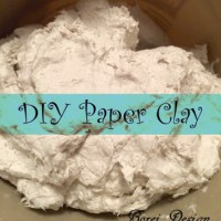 DIY Paper Clay- You Won't Believe What It's Made From!