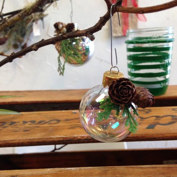 in focus ornament