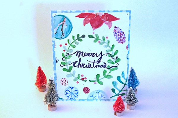 watercolor christmas cards (3)