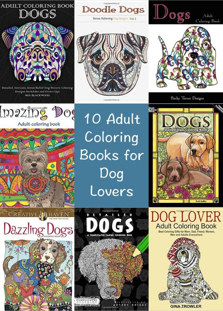 10 Dog Themed Coloring Books For Adults Indie Crafts