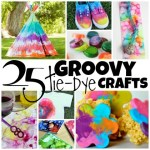 25 Groovy Tie Dye Crafts for the Summer