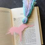 DIY Unicorn Bookmark