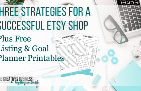 3 Tips for a Successful Etsy Store and Etsy Goal Planner Printable