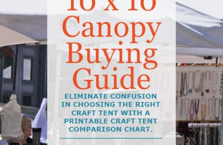 10x 10 Craft Canopy Buying Guide