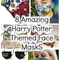 8 Harry Potter Themed Face Mask