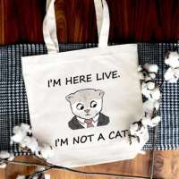 I'm Here Live, I'm Not A Cat SVG - Make Your Own Shirts