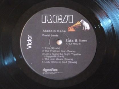 Aladdin Sane Side B