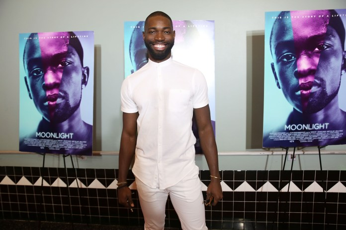 "Tarell Alvin McCraney attends ""MOONLIGHT"" Cast & Crew Hometown Premiere in Miami (Photo by Aaron Davidson/Getty Images for A24)"