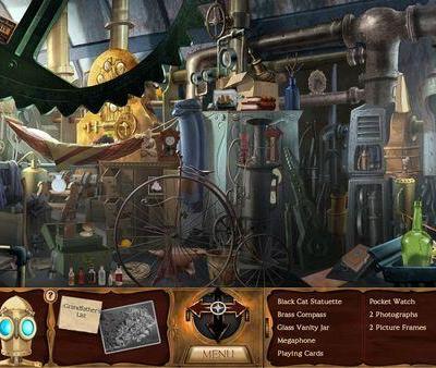 clockwork man hidden object screenshot