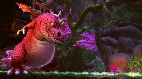 giana sisters twisted dreams screenshot - dino dragon