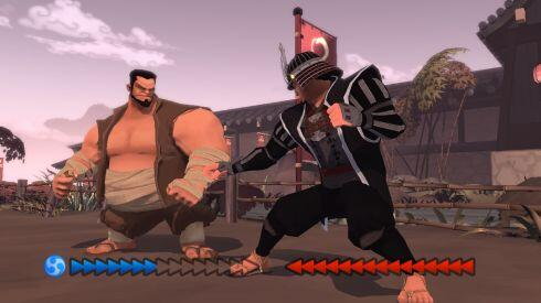 karateka hd - hulking brute combat in-game screenshot