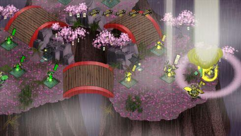 Skulls of the Shogun game screenshot, gas clouds