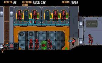 Bad Bots game screenshot - 2