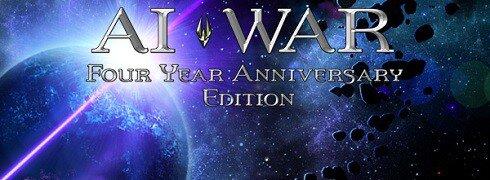 AI War four year anniversary header