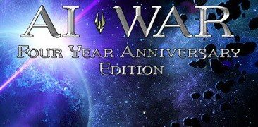 AI War four year anniversary header