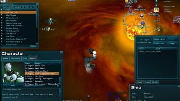 Star Sonata 2 screenshot - UI-shot