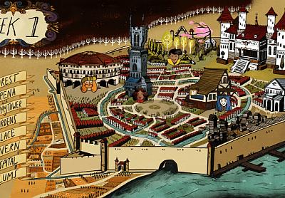 The Yawhg - Village Screen