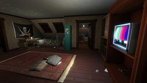 Gone Home game screenshot