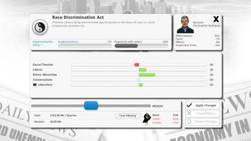 Democracy 3 game screenshot 5