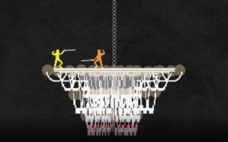 nidhogg screenshot - chandelier