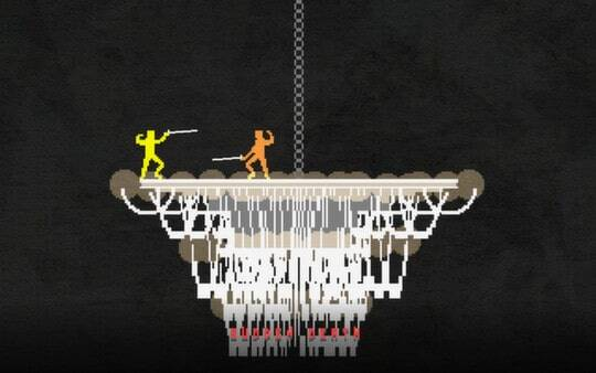 nidhogg screenshot - chandelier