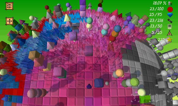 Cube & Star screenshot - pink