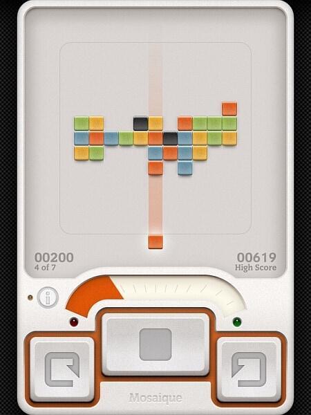 mosaique game screenshot 1
