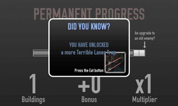 Not The Robots screenshot - upgrades