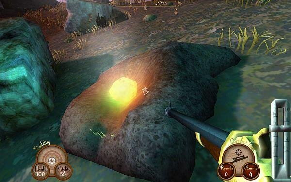 Sir_You_Are_Being_Hunted_screenshot-_stone_IndieGameReviewer