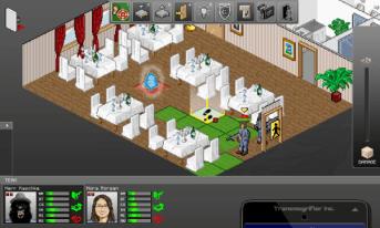 GhostControl screenshot - restaurant