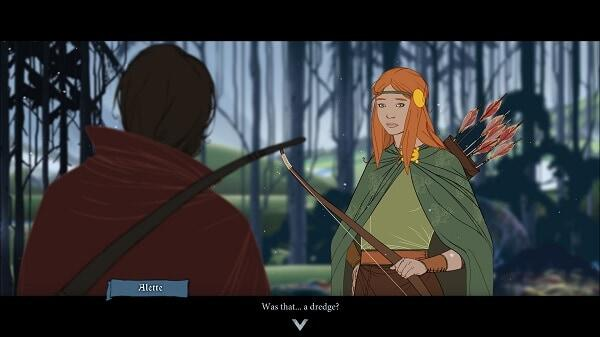 The Banner Saga (an animated cut scene)