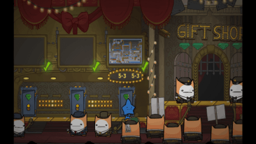 Battleblock Theater screenshot - Hub Area