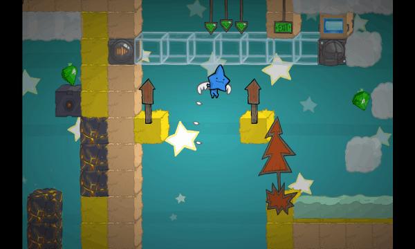 Battleblock Theater screenshot - wings