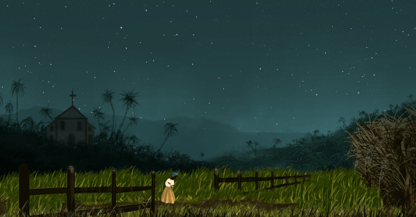 Thralled screenshot - night