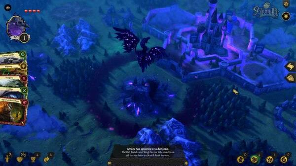 Armello, another map view