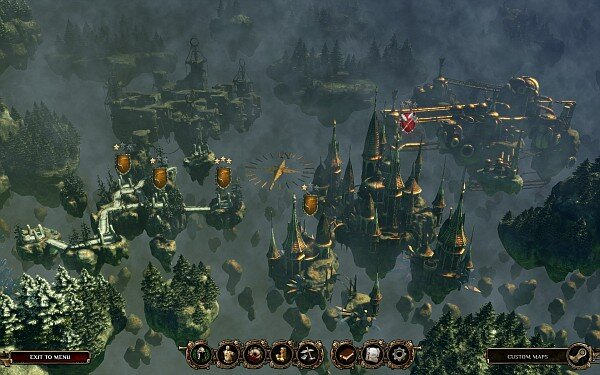 Deathtrap world map screenshot