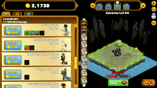 Review: Clicker Heroes