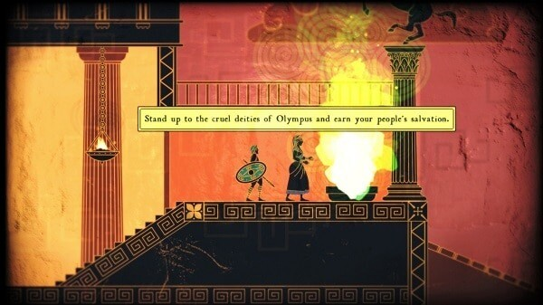 Apotheon: Hera assigns you your quest