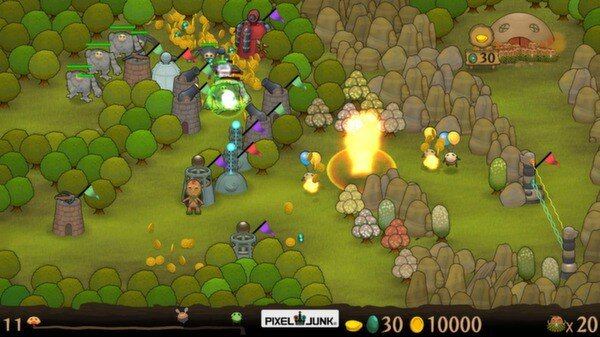 Pixeljunk Monsters screenshot