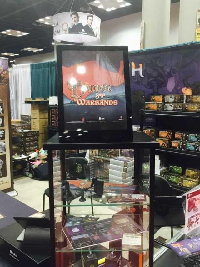 MegaCon Games booth at GenCon