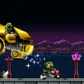 Freedom Planet screenshot - Miniboss
