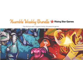 Humble Bundle Teams Up with Rising Star Games for Weekly Deal