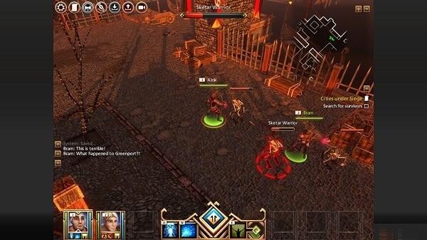 Kyn, battle scene
