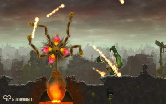 Mushroom 11: screenshot courtesy of Steam