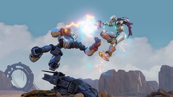 Rising Thunder: screenshot courtesy of official site