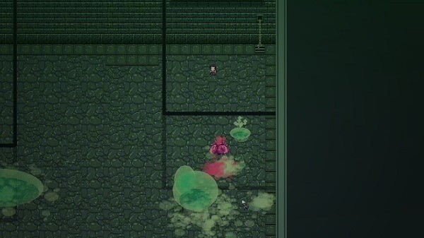 Titan Souls, a slime-encased heart boss