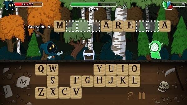 letter quest grimms journey remastered screenshot guessing