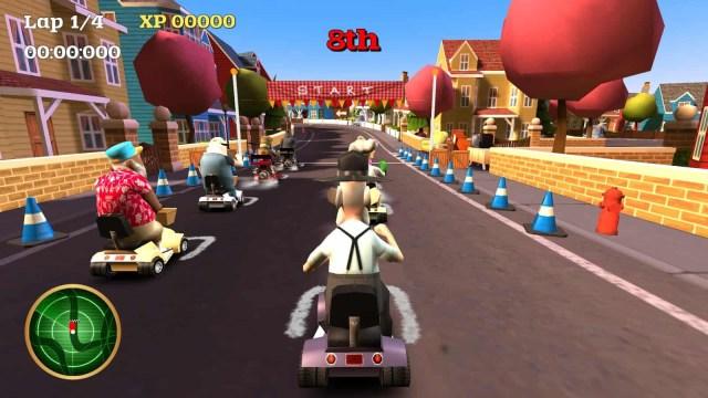 Coffin Dodgers game screenshot