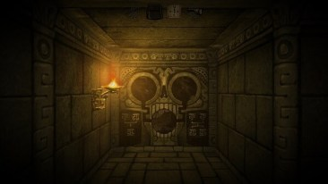 I Can't Escape: Darkness, skull wall