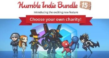 Humble Indie Bundle 15, Choose Your Charity + Figurines!